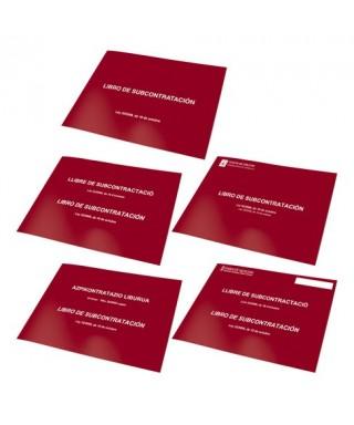 Libro subcontratación A4 apaisado castellano- DOHE - 322030 / 10011