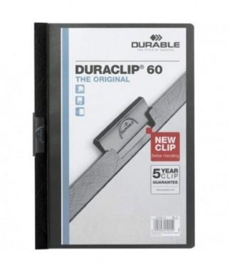 Dossier duraclip negro 60 h- CARLOS WENDEL - 2209 01