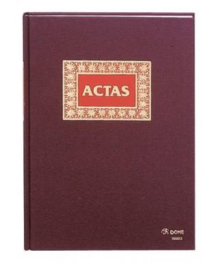 Libro actas 100 hojas folio natural- DOHE - 9905