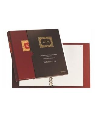 Carpeta de actas A4 100 hojas móviles- DOHE - 9922