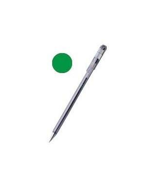 Bolígrafo tapa tinta de aceite verde- PENTEL - BK77VD