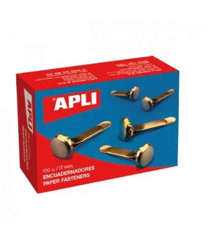 Encuadernador metálico sin arandela- APLI - 12284