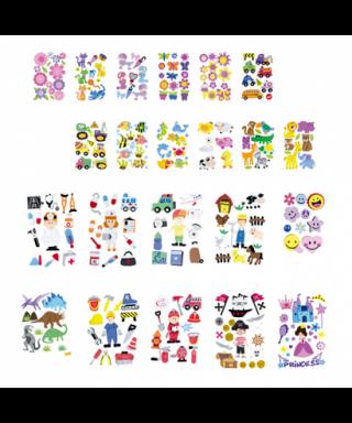 Figura goma eva flores- GRAFOPLAS - 68048100