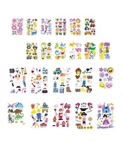 Figura goma eva flores- helado- GRAFOPLAS - 68048104