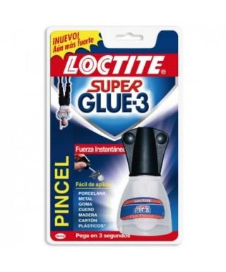 Bote 5grs con pincel Súper glue 3- LOCTITE - 608065