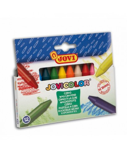 Ceras colores surtidos- JOVICOLOR - 980/12