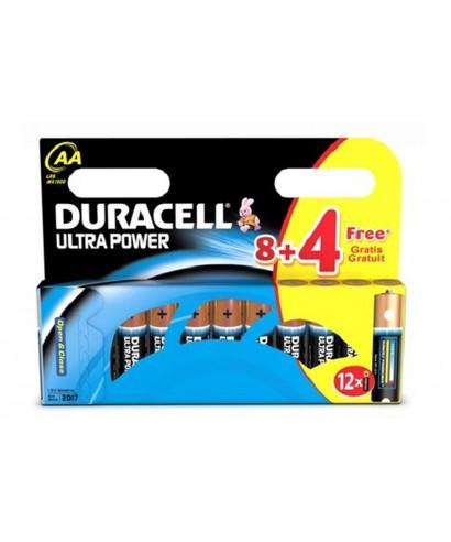 Pila LR-06 AA Plus Power- DURACELL- 8+4