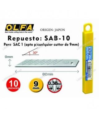 Blister de 5 cuchillas 18 mm - OLFA -