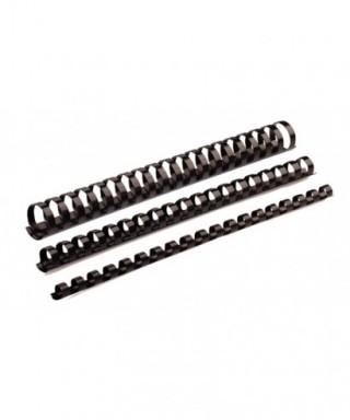 Canutillo plástico 19mm negro- FELLOWES