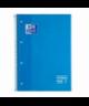 Bloc 80h A4 cuadr azul OXFORD