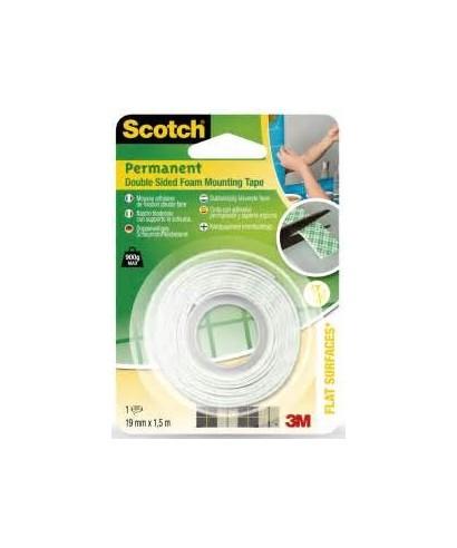 Scoth cinta con adhesivo permanente