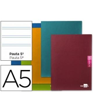 Libreta 32 hojas pauta ancha cuarto - 22529 / 71333