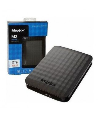 Disco duro Externo  - Maxtor 2,5 2 TB M3 Negro - HD2289597