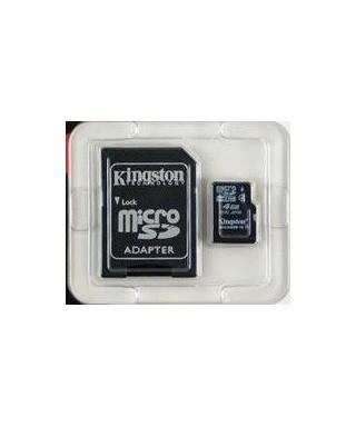 Tarjeta de memoria Micro SDHC Kingston - 4GB  - VI00085