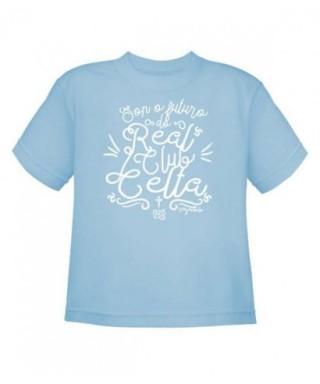 Camiseta futuro celeste niño 5-6 - RZ -