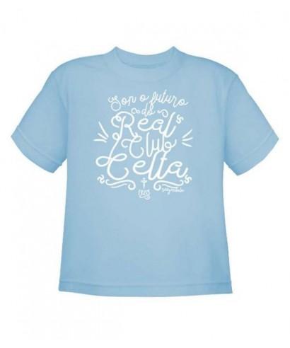 Camiseta futuro celeste niño 7-8 - RZ -