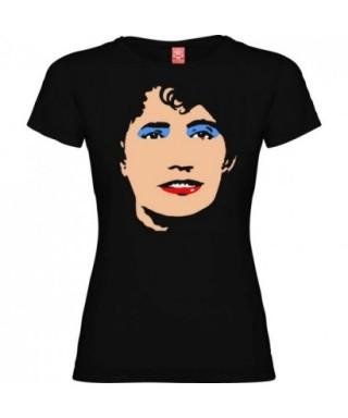 Camiseta rosalia negro mujer M - RZ -