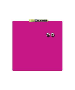 Pizarra magnética Rexel rosa