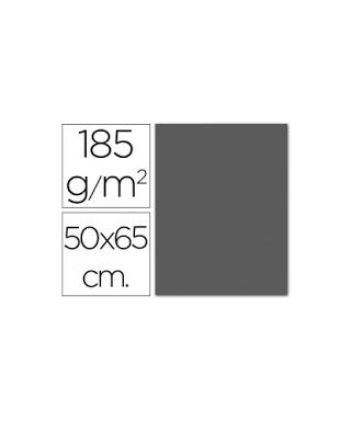 Cartulina gris plomo 50x65 grafoplas