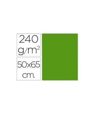 Cartulina verde navidad 50x65 grafoplas