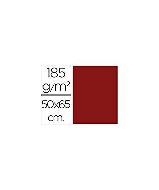 Cartulina granate 50x65 grafoplas