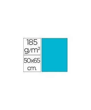 Cartulina azul maldivas 50x65 grafoplas