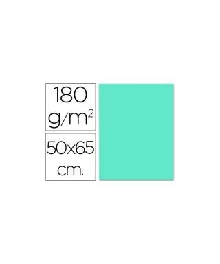 Cartulina Azul turquesa 50x65 grafoplas