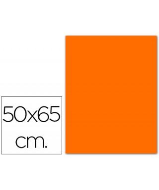 Cartulina naranja 50x65 grafoplas