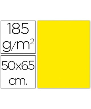 Cartulina amarillo canario 50x65 grafopl