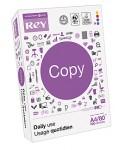 Papel Rey Copy A4 - 80 grs - Paquete 500 hojas blancas.