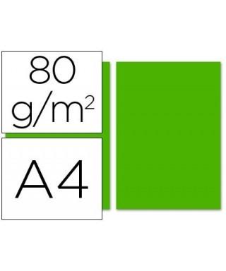 Papel A4 verde. 80 gr. Sigma