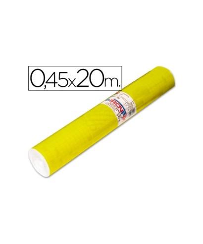 Film autoadhesivo amarillo fluor