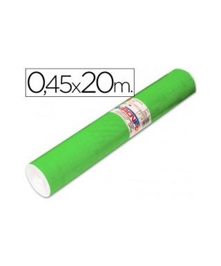 Film autoadhesivo verde fluor