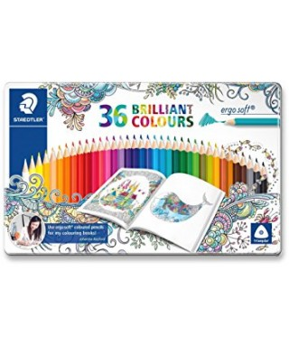 Lápices colores staedtler ergosoft 36