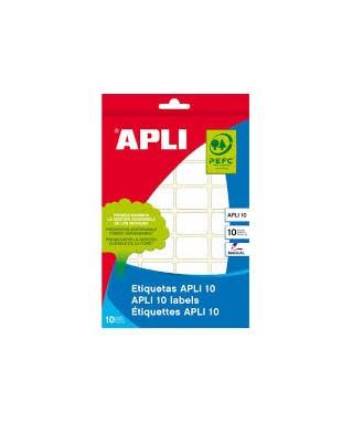 S/etiquetas adhesivas blancas 13x50 Apli