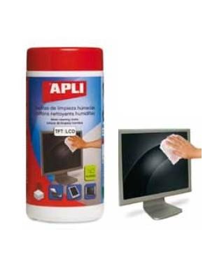 Toallitas limpiapantallas- APLI - 11302