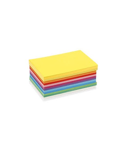 Papel a4 colores surtidos fuertes. Uni