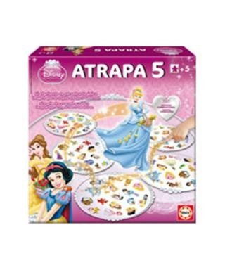 Atrapa 5, princesas Disney - Educa