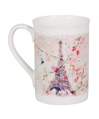 Taza de porcelana colección Paris Claire