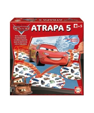 Atrapa 5 Cars - Disney