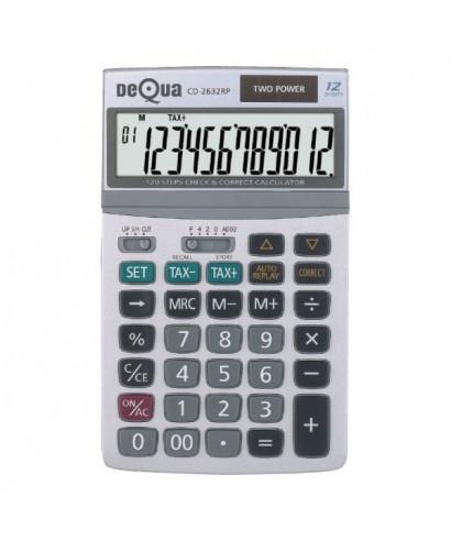 Calculadora 12 dÍgitos decqua 2632RP