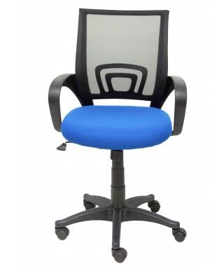 Silla de oficina ergonómica - Asiento en color azul - Gres ref. PYPCSA0019