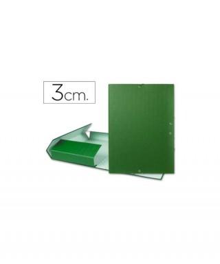 Carpeta lomo 3cm verde