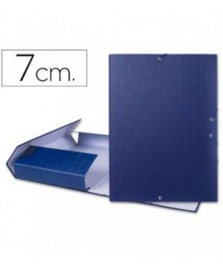 Carpeta lomo 7 cm azul- 2207