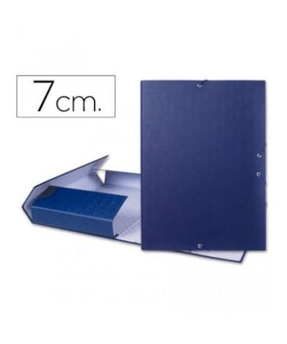 Carpeta lomo 7 cm azul 2207