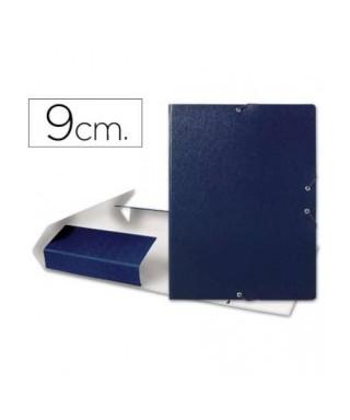 Carpeta lomo 9 cm azul-MARIOLA - 2209-1