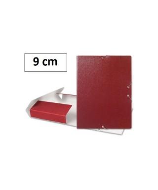 Carpeta lomo 9 cm rojo- 2209-3