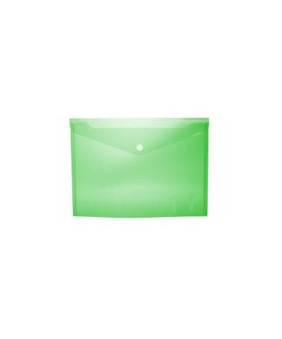 Sobre broche folio verde