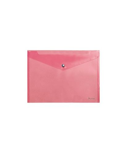 Sobre broche folio rojo