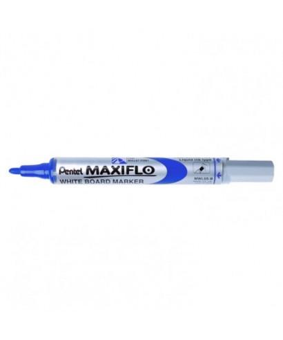 Rotulador pizarra Maxiflo azul- PENTEL - MWL5SAZ